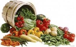 Panier Automne fruits et légumes